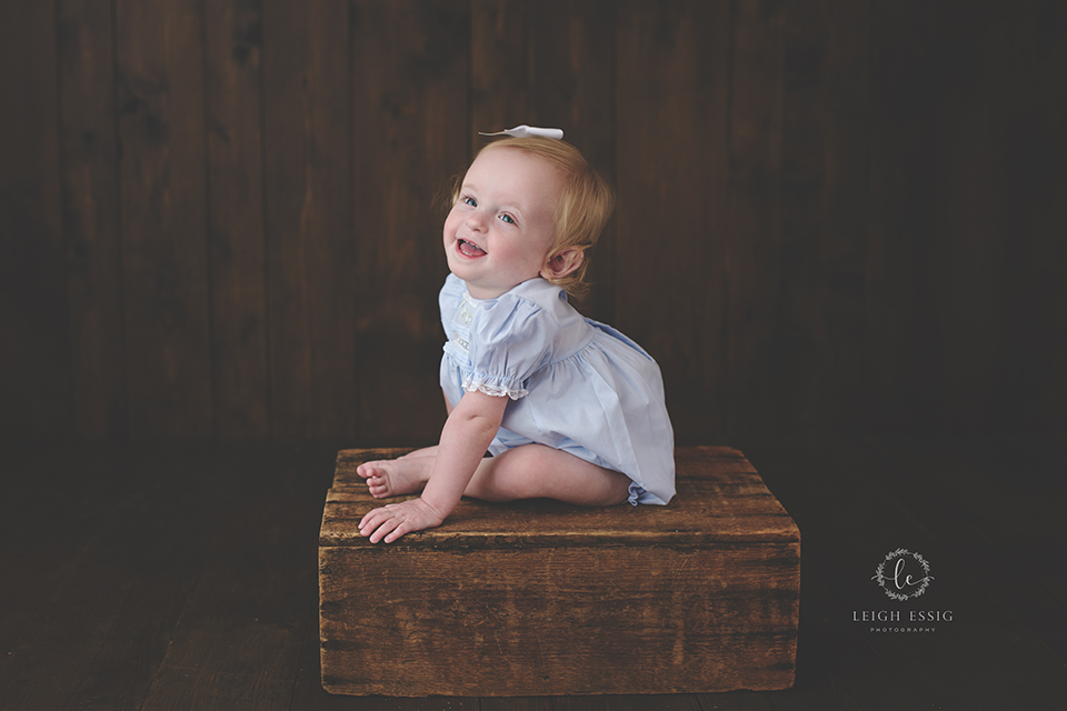 Allie's 15 Month Milestone Session
