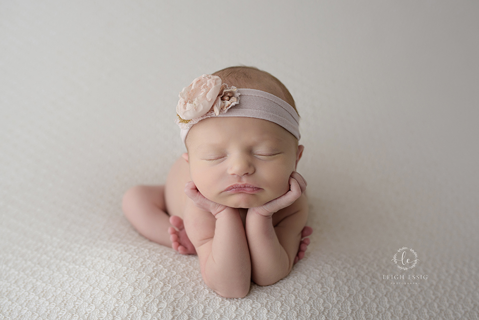 Cream & Crochet & Roses – Grigg's Newborn Session