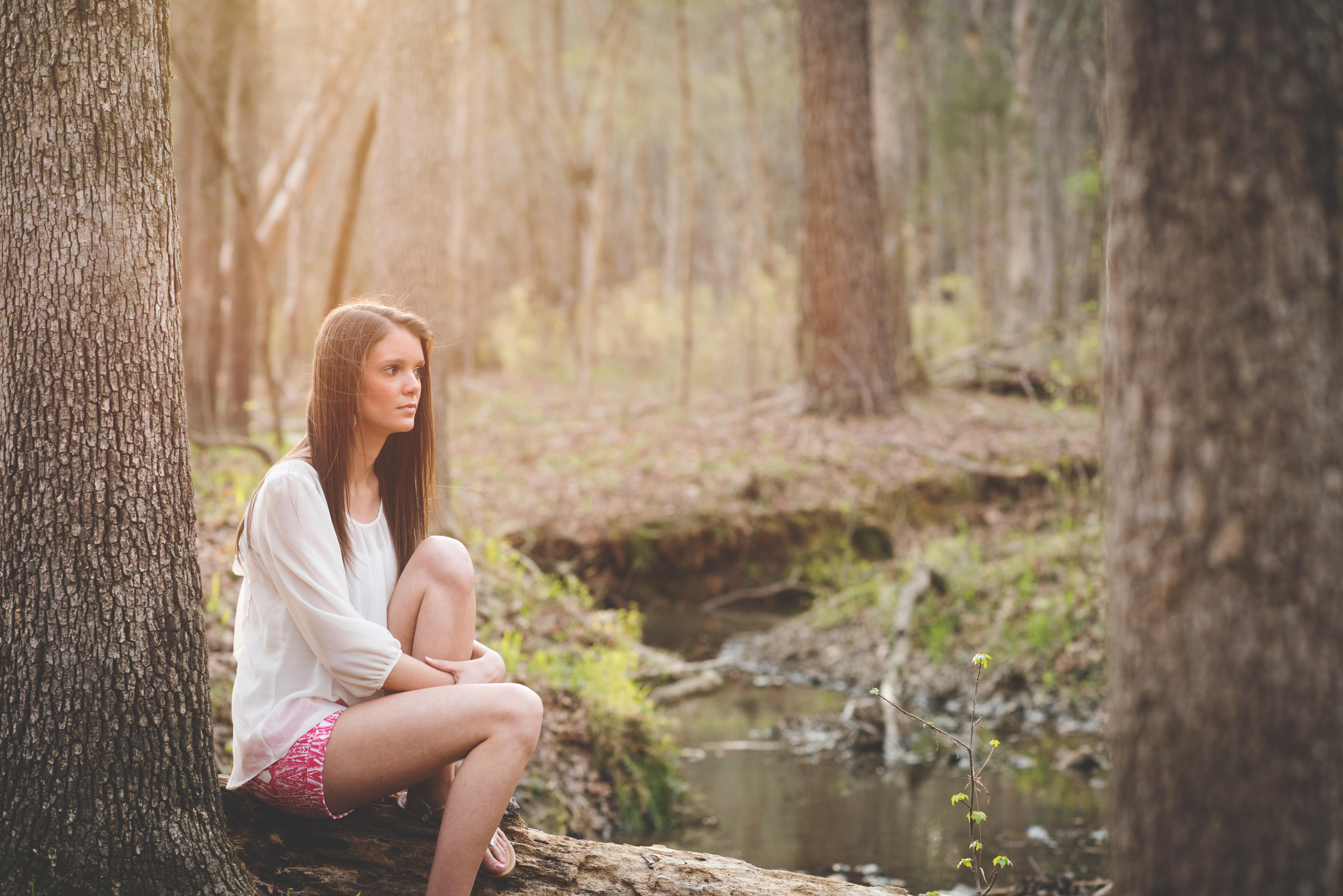 Hannah ~ High School Senior Portrait Photographer Columbia SC